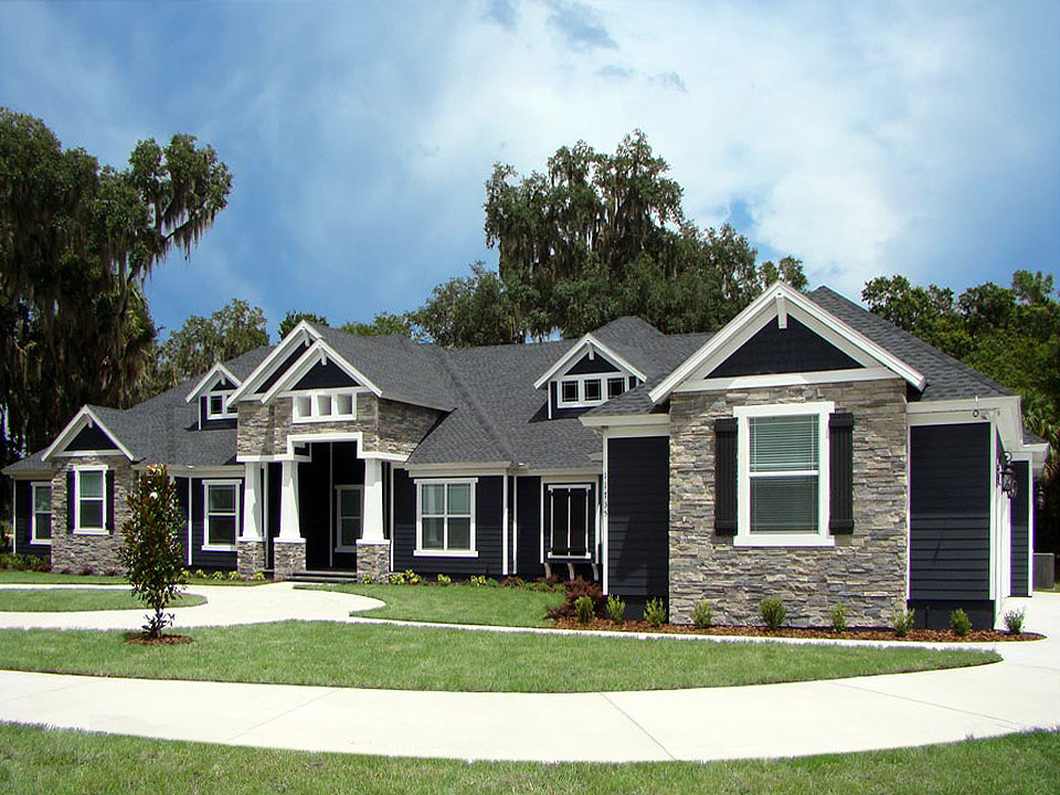 Craftsman Style Custom Homes in Tampa Florida