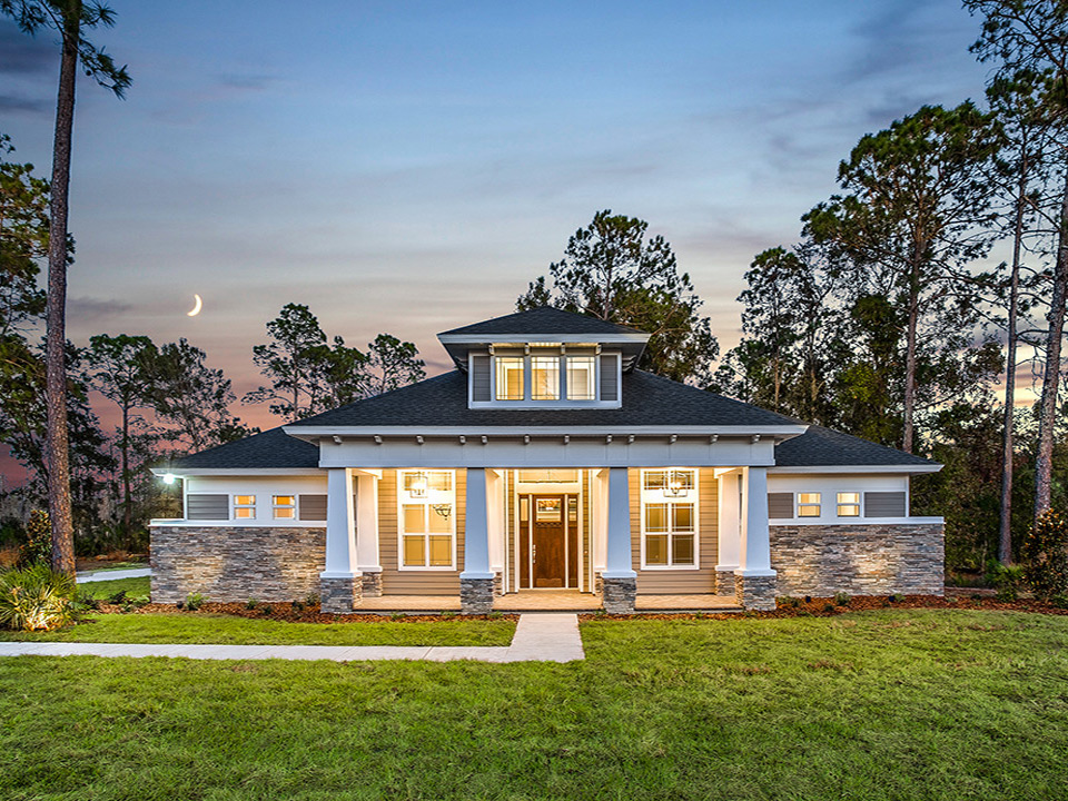 Farmhouse Style Custom Home in Wesley Chapel Florida