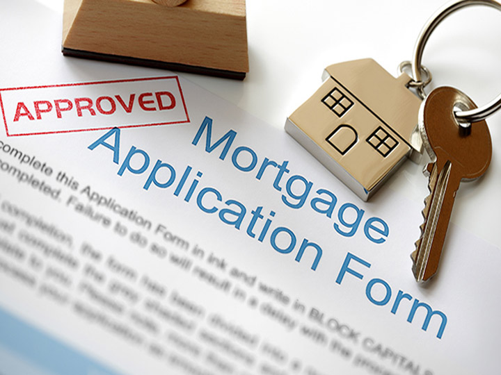 Mortgage application photo